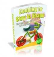 Thumbnail Cooking To Stay In Shape - With Master Resale Rights