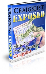 Thumbnail Craigslist Exposed - With Master Resale Rights