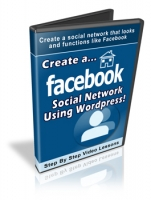 Thumbnail Create A Facebook Social Network Using Wordpress