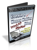 Thumbnail Create A Money Making Product Review Blog