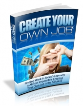 Thumbnail Create Your Own Job - With Master Resale Rights