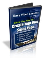 Thumbnail Create Your Own Sales Page