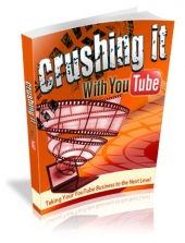 Thumbnail Crushing It With YouTube - With Master Resell Rights