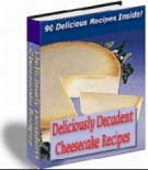 Thumbnail Deliciously Decadent Cheescake Recipes With Resell Rights