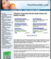 Thumbnail Detox Website - With Private Label Rights