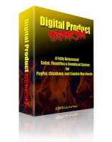 Thumbnail Digital Product Demon - With Master Resale Rights
