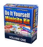 Thumbnail Do It Yourself Minisite Kit