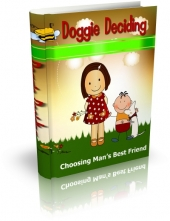 Thumbnail Doggie Deciding - With Master Resale Rights