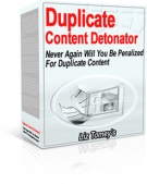 Thumbnail Duplicate Content Detonator - With Master Resale Rights