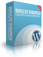 Thumbnail Easily Duplicate Your WordPress Site - With Master Resale Rights