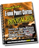 Thumbnail E-Book Profit Centers Revealed - With Giveaway Rights