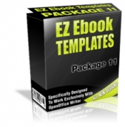 Thumbnail EZ Ebook Templates Package 11 - With Master Resale Rights