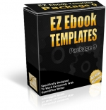 Thumbnail EZ Ebook Templates Package V9 - With Master Resale Rights