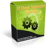 Thumbnail EZ Ebook Templates Package V4 - With Master Resale Rights