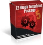 Thumbnail EZ Ebook Templates Package V5 - With Master Resale Rights