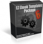 Thumbnail EZ Ebook Templates Package V6 - With Master Resale Rights