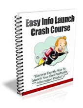 Thumbnail Easy Info Launch Crash Course - With Private Label Rights