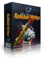 Thumbnail Easy Press Release Writer - With Master Resell Rights