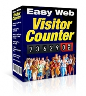 Thumbnail Easy Web Visitor Counter - With Master Resale Rights
