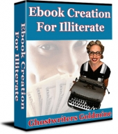 Thumbnail Ebook Creation For Illiterate - Ghostwriters Goldmine With Private Label Rights