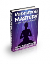 Thumbnail Empty Mind Meditation - With Master Resell Rights