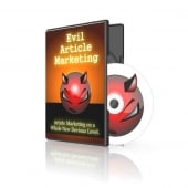Thumbnail Evil Article Marketing - With Master Resale Rights