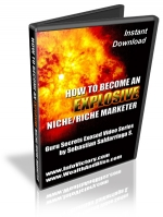 Thumbnail How To Become An Explosive Niche-Rich Marketer - With Master Resale Rights