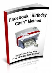 Thumbnail Facebook Birthday Cash - With Private Label Rights