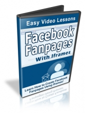 Thumbnail Facebook Fan Pages With Iframes - With Resale Rights
