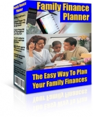 Thumbnail Family Finance Planner - With Resell Rights