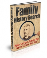 Thumbnail Family History Search - With Private Label Rights