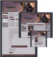 Thumbnail Fashion Themed Wordpress, Blogger and HTML Templates - With Master Resale Rights
