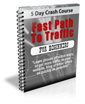 Thumbnail Fast Path To Traffic For Beginners - With Private Label Rights