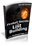 Thumbnail Fireball Secrets to List Building - With Resell Rights