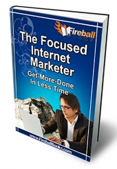 Thumbnail The Focused Internet Marketer - With Master Resell Rights