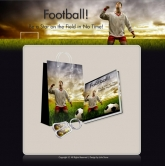 Thumbnail Football - Minisite & Content - With Resale Rights