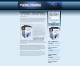 Thumbnail Forex Landing Page Template