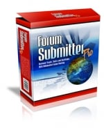 Thumbnail Forum Submitter Pro With Master Resale Rights