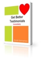 Thumbnail Get Better Testimonials Immediately - With Private Label Rights