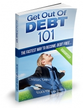 Thumbnail Get Out of Debt 101 - With Private Label Rights