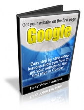Thumbnail Get Your Website On The First Page Of Google - With Resale Rights