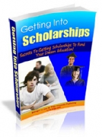 Thumbnail Getting Into Scholarships - With Master Resale Rights