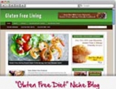 Thumbnail Gluten Free WordPress Niche Blog - With Personal Use Rights