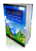 Thumbnail Go Green - Save Green at the Same Time - With Private Label Rights
