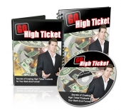 Thumbnail Go High Ticket - With Master Resale Rights