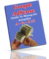 Thumbnail Google AdSense A - To - Z!!! - With Private Label Rights
