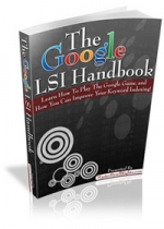 Thumbnail The Google LSI Handbook - With Master Resale Rights