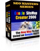 Thumbnail Google Site Map Creator 2006 - With Private Label Rights