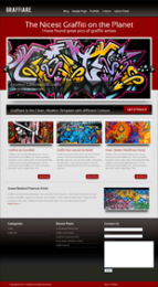 Thumbnail Graffiare WP Theme - With Master Resale Rights