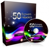 Thumbnail Graphics Ease 50 eCovers & Headers - With Master Resell Rights